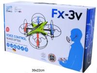 RC Quadrocopter Voice Control FX-3V