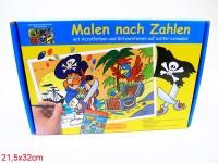 Malen nach Zahlen Piratenschatz