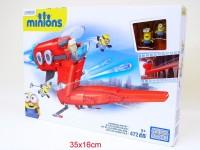 Minions Megabloks 472tlg Supervillain Jet