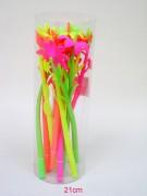 Kugelschreiber Blume farbig sortiert