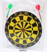 Dartspiel 22cm 2 Pfeile