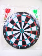 Dartspiel 30cm 4 Pfeile geblistert