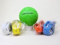 Fußball Dunlop Gr.3 farbig sortiert