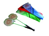 Badmintonset Donnay 6tlg 3 Farben sortiert