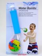 Wasserbomben 30er mit Füller auf Karte