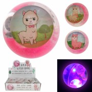 Springball 65mm Glitzer Lama LED