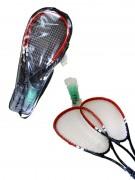 Speed Badmintonset 8tlg 3 Farben