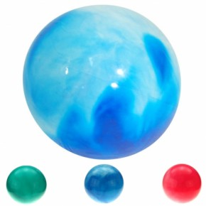 Aufblas-Ball marm. 30cm sortiert