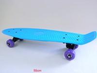 Skateboard 55cm 6 Farben sortiert