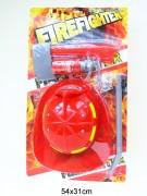 Feuerwehrset mit Helm 5tlg