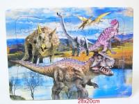 Puzzle Dino 28x20cm