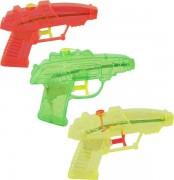 Wasserpistole 11cm 3er Set farbig sortiert