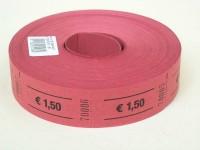Rollen-Gutscheine 1,50 Euro 1000er Rolle