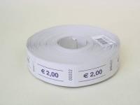 Rollen-Gutscheine 2,00 Euro 1000er Rolle