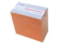 Block Doppelnummern 1001-2000 orange