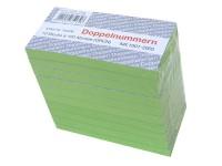 Block Doppelnummern 1001-2000 grün