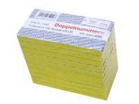 Block Doppelnummern 3001-4000 gelb