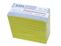 Block Doppelnummern 4001-5000 gelb