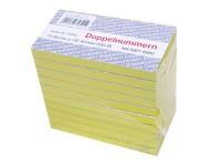 Block Doppelnummern 5001-6000 gelb