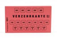 Verzehrkarte 20.-€ rot 50 Stück Block