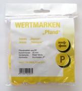 Wertmarken Chips gelb Pfand 100er Pack