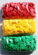Wertmarken Chips gelb Pfand 500er Pack