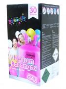 Helium Ballongas 30 Einweg Behälter
