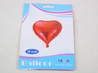Folienballon Herz 45cm rot
