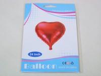 Folienballon Herz 62cm rot