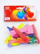 Luftballon Formen sortiert 15 Stück