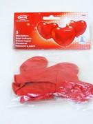 Herzluftballon rot 30cm 5er Beutel