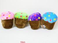 Plüsch Cupcake 10cm sortiert