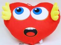 Herz 28cm Hände und Gesicht 3-fach sortiert