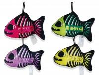 Sklelett Fisch 17cm 4-fach sortiert