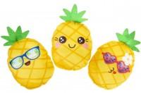 Ananas 18.5cm mit Gesicht 3-fach sortiert