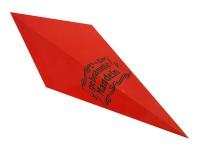 Spitztüten 125gr Gebr. Mandel rot 1000 Stück