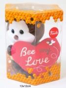 Trudi Biene mit Herz in Box 12x9cm