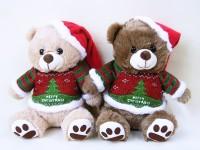 Weihnachtsbär 25cm 2-fach sortiert