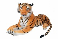 Tiger 85cm liegend braun