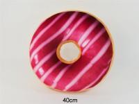 Donut Kissen 40cm Glasur pink