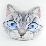 Dekokissen Grummelkissen Katze 47x43