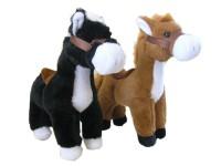 Pferd mit Sattel 30cm 2fach sortiert
