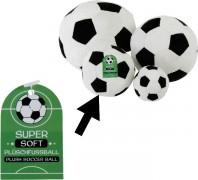 Plüsch Fußball 15cm soft s/w