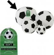 Plüsch Fußball 25cm soft s/w