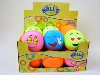 Ball Funny Face 10cm Microperlenfüllung sortiert