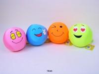 Ball Funny Face 14cm Microperlenfüllung sortiert