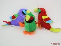 Papagei 16cm sortiert