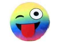 Kissen Smile Rainbow 30cm