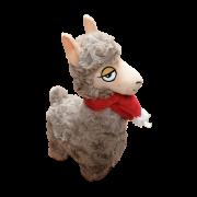 Alpaka mit Schal 23cm