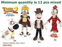Plüschfiguren Tadeo Jones 32cm sortiert